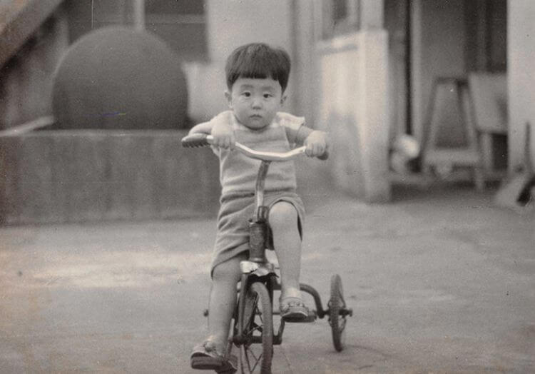 安倍晋三の子供の頃の画像